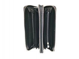 Клатч кожаный с двумя молниями Loro Piana 802 A_5