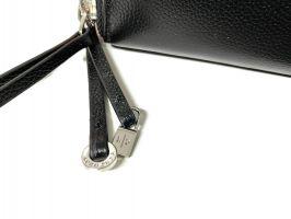 Клатч кожаный с двумя молниями Loro Piana 802 A_2