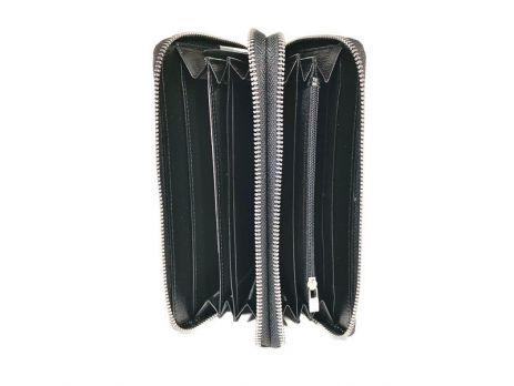 Клатч кожаный с двумя молниями Loro Piana 802 A