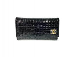 Ключница кожаная Chanel 9048 A Black_1