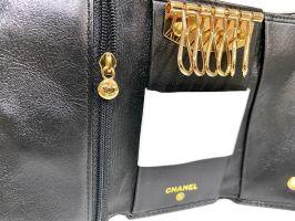 Ключница кожаная Chanel 9048 A Black_4