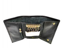Ключница кожаная Chanel 9048 A Black_5