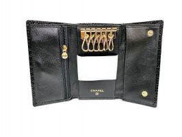 Ключница кожаная Chanel 9048 A Black_3