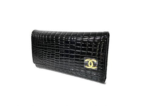 Ключница кожаная Chanel 9048 A Black