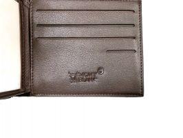 Портмоне мужской кожаный Mont blanc 323-3_5
