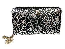 Кожаный женский кошелёк на молнии Chanel 1668_1