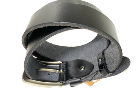 Кожаный ремень Levis black 1673