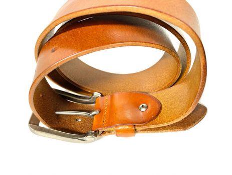 Ремень кожаный фирменный Boss 1677