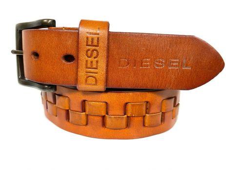 Кожаный ремень фирменный Diesel 1679