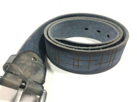 Ремень кожаный NHZ-638bl