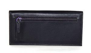 Клатч кожаный Hassion H-056 black_1