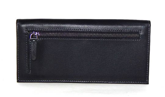 Клатч кожаный Hassion H-056 black