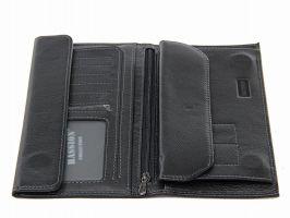Кожаный мужской клатч Hassion H-058 black_2