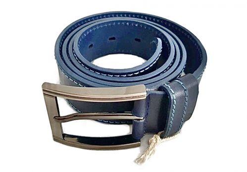 Кожаный ремень DIEZZ blue