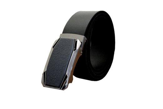 Ремень кожаный с пряжкой-зажим MZ-3502b