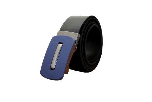 Ремень кожаный зажим MZ-3507b