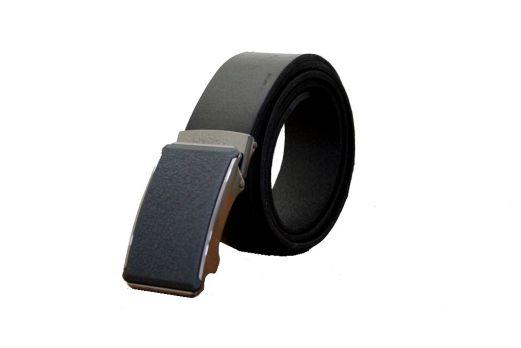Ремень кожаный зажим MZ-3501b