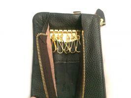 Ключница - клатч из кожи_4