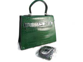 Сумка женская Hermes Kelly 6628 Green