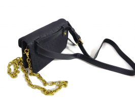 Женская сумка на пояс Christian Dior 1899 BLACK_1