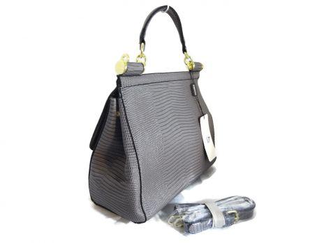 Сумка женская Dolce & Gabbana (Дольче Габбана) 302 Grey