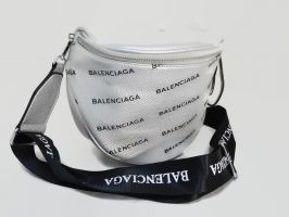 Сумка женская кросс-боди Balenciaga silver_0
