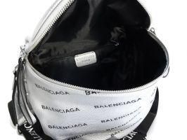 Сумка женская кросс-боди Balenciaga silver_2