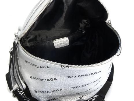 Сумка женская кросс-боди Balenciaga silver