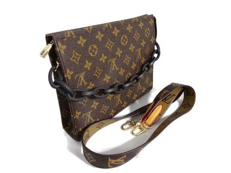 Женская сумка-клатч Louis Vuitton 0515 brown