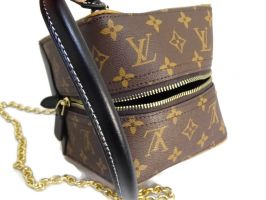 Кожаная женская сумочка Louis Vuitton (Луи Виттон) Cube_2