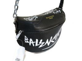 Сумка женская кросс-боди Balenciaga 018 Black_0