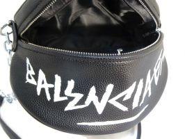 Сумка женская кросс-боди Balenciaga 018 Black_2