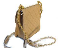 Сумка женская Chanel 6022 (шанель) beige_1