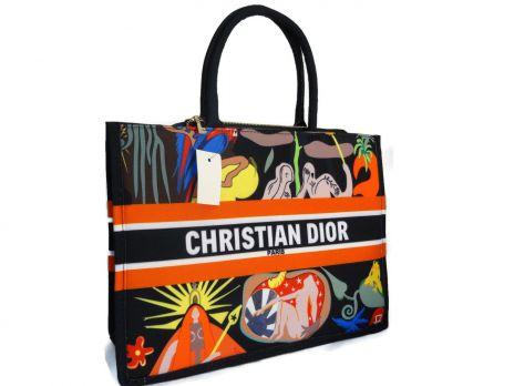 Женская сумка тоут Christian Dior 6038 -1 черный