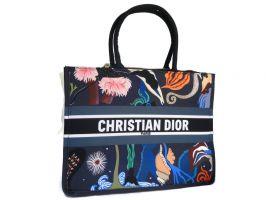 Женская сумка тоут Christian Dior 6038 Blue_0