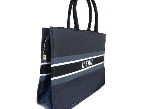 Женская сумка тоут Christian Dior 6038 Blue