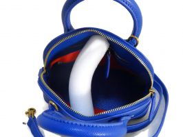 Кожаная сумочка Balenciaga (Баленсиага) Blue_2