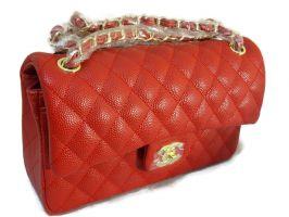 Сумка женская красная Chanel (Шанель) 9371