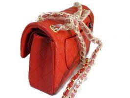 Сумка женская красная Chanel (Шанель) 9371_1