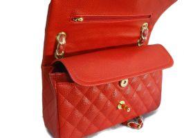 Сумка женская красная Chanel (Шанель) 9371_3
