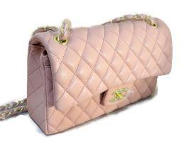 Сумка женская розовая Chanel (Шанель) 9371 pink_0