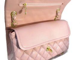 Сумка женская розовая Chanel (Шанель) 9371 pink_2