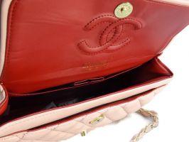 Сумка женская розовая Chanel (Шанель) 9371 pink_3