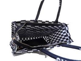Сумка тоут женская Dior oblique 6038-1 black_2