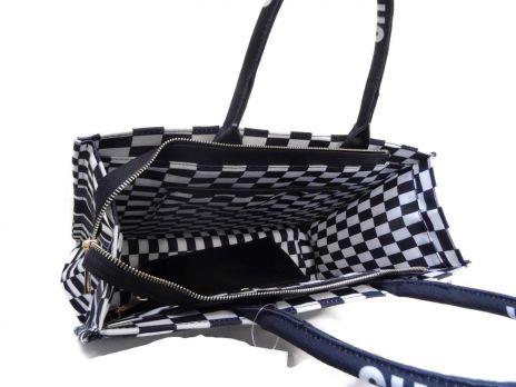 Сумка тоут женская Dior oblique 6038-1 black