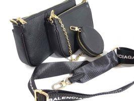 Сумка женская набор Balenciaga (Баленсиага) 68116 BLACK_1