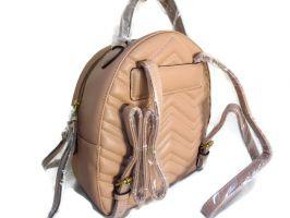 Женский рюкзак Gucci Marmont 246 M пудра_1