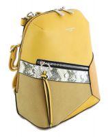 Рюкзак женский David Jones 6238-2 Yellow