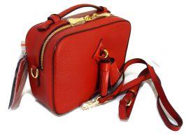 Кожаная красная женская сумка Forstmann 130 red