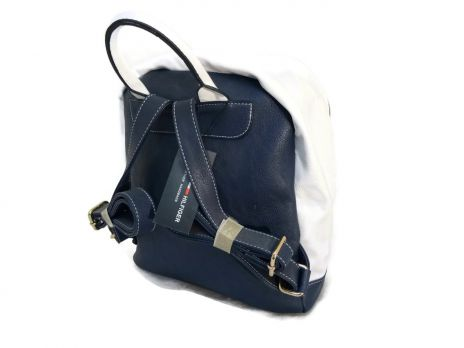 Рюкзак Tommy Hilfiger сине-белый